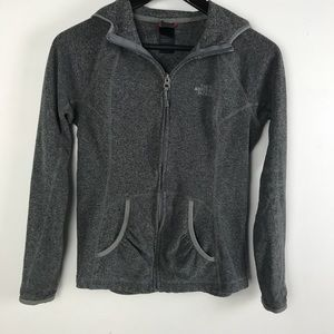 The North Face Polartec Hoodie Grey Size Small